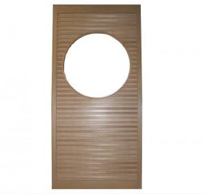 アガチス材の木製舞良戸